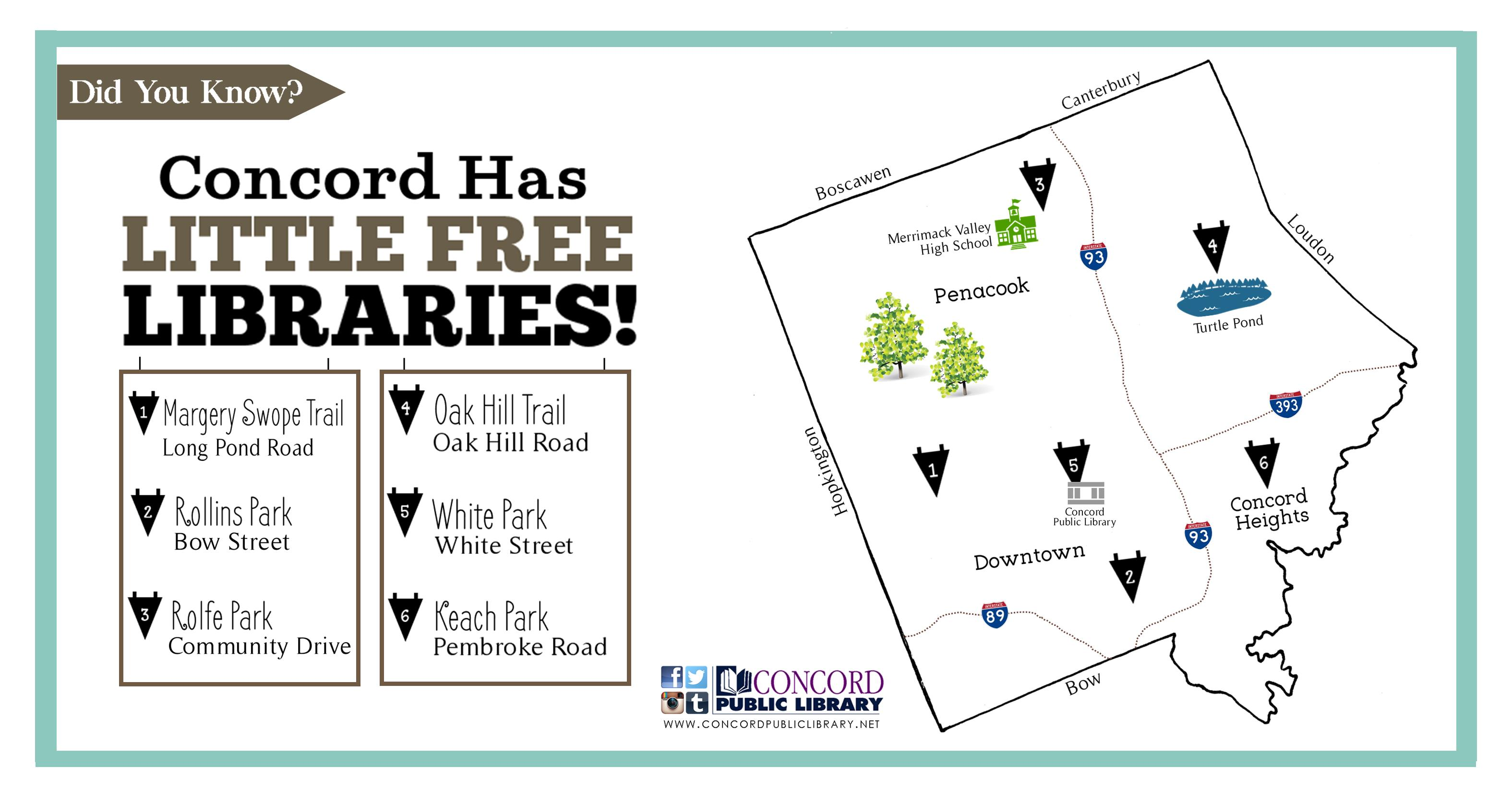 Little Free Library Map