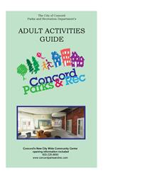 Adult Activities Guide