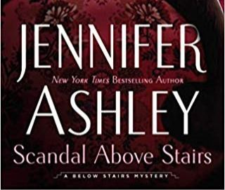 Scandal Above the Stairs Book Cover