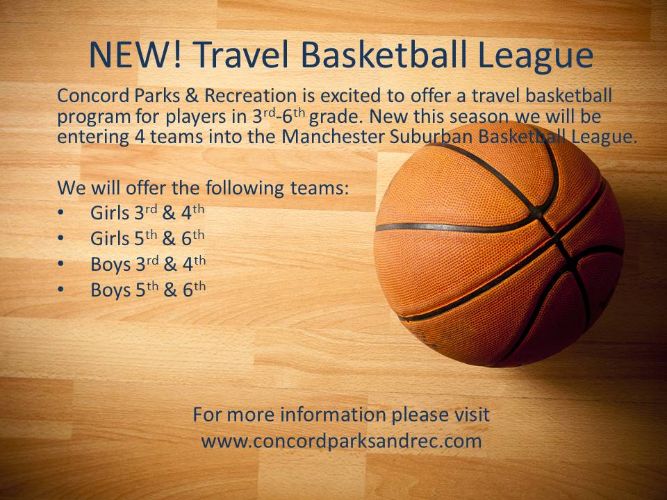 NEW! Travel Basketball League