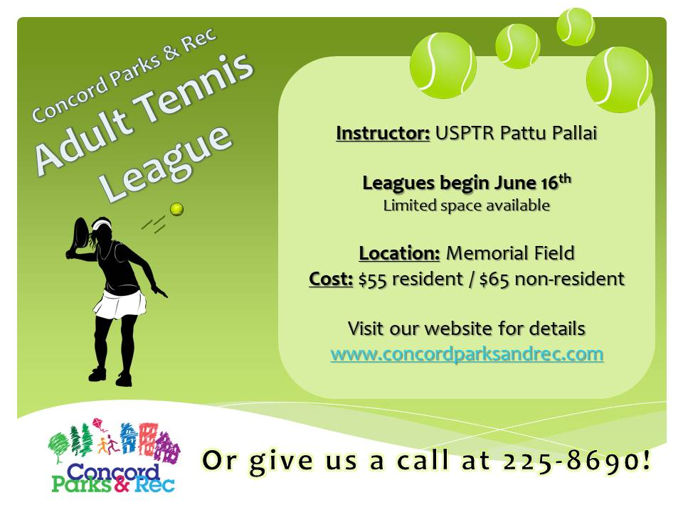 Tennis League (Adult)