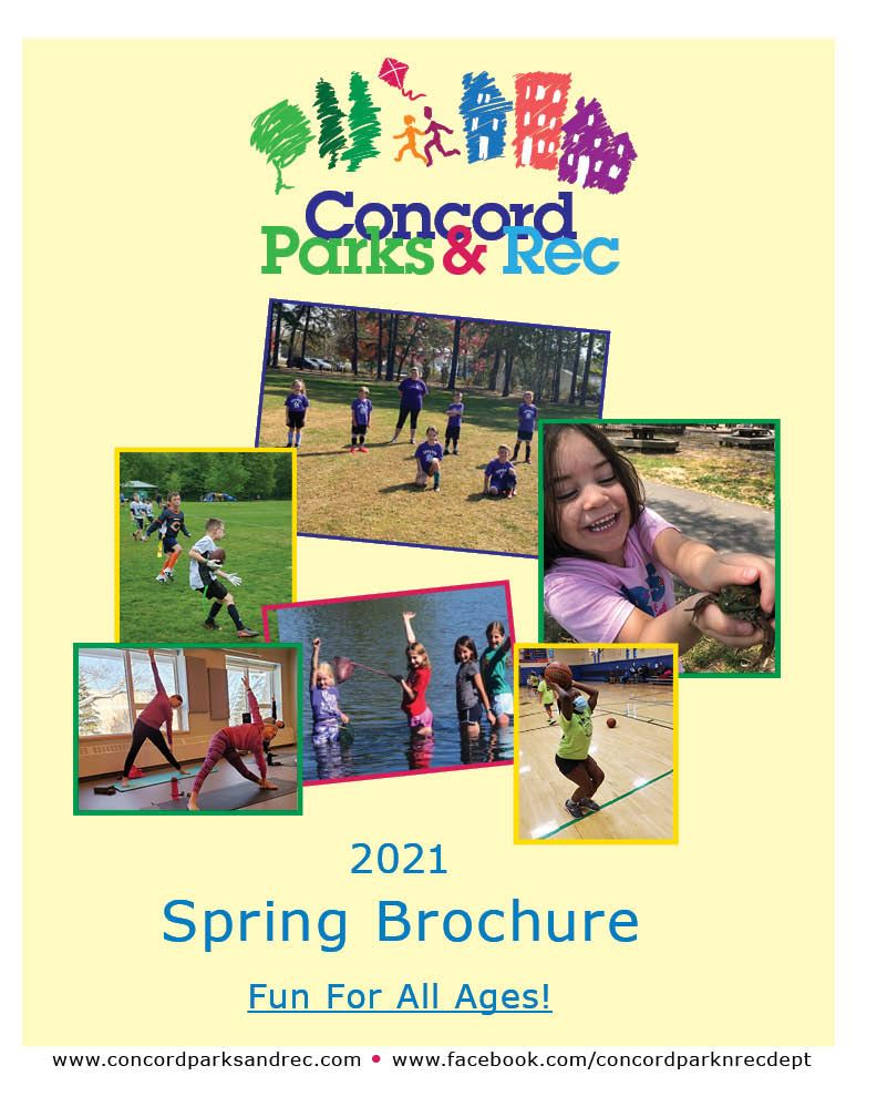 spring brochure cover
