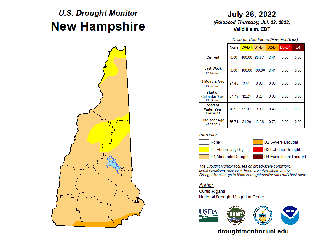 NH Drought Map 12121 Opens in new window