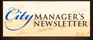 City Manager's Newsletter
