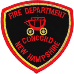 Concord Fire Department patch