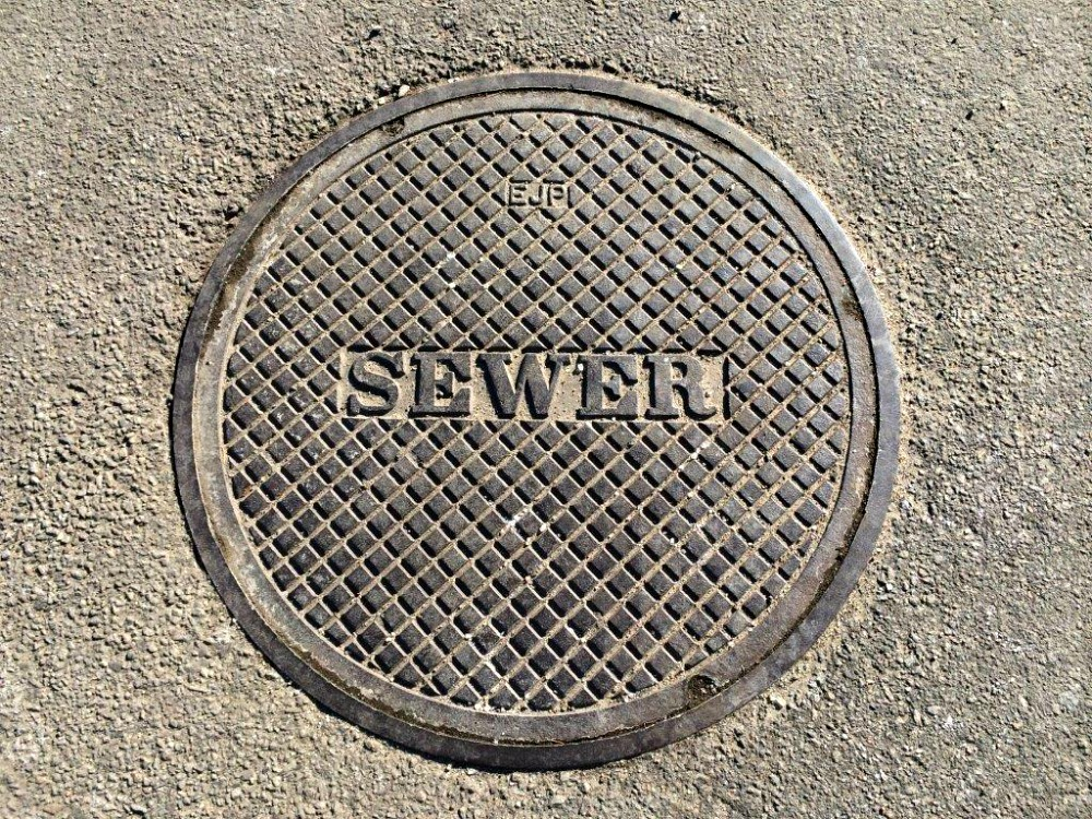 Sewer Collection Manhole Cover