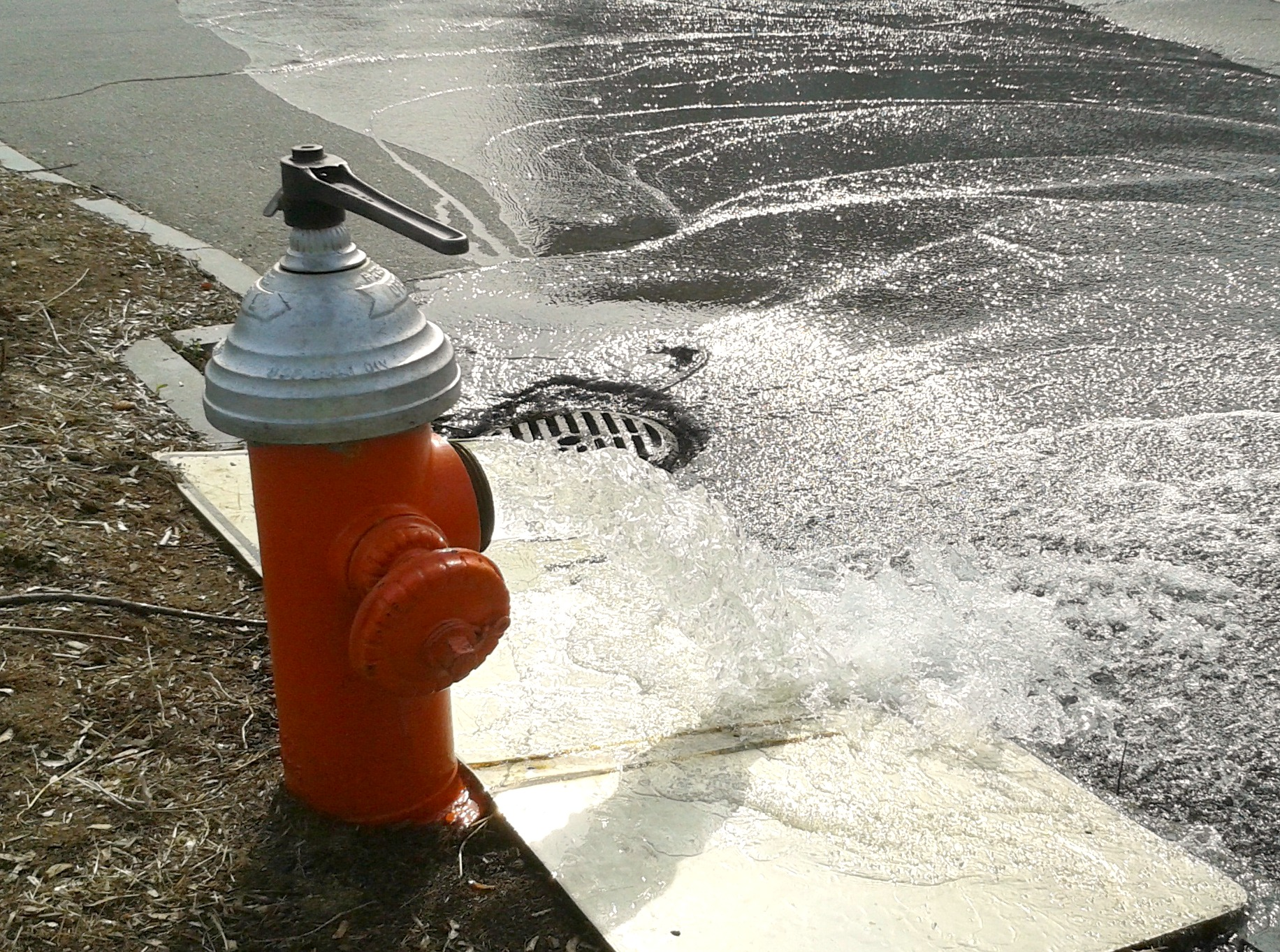 Concord General Services Hydrant Flushing Spring Operations