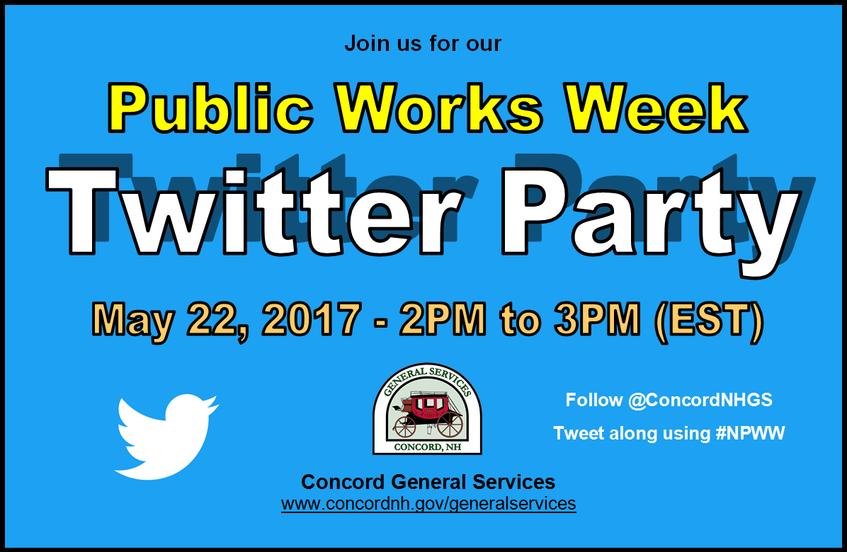 Public Works Twitter Party