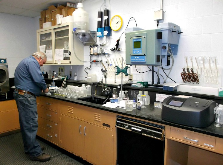 Concord General Services Water Treatment Plant Lab Quality