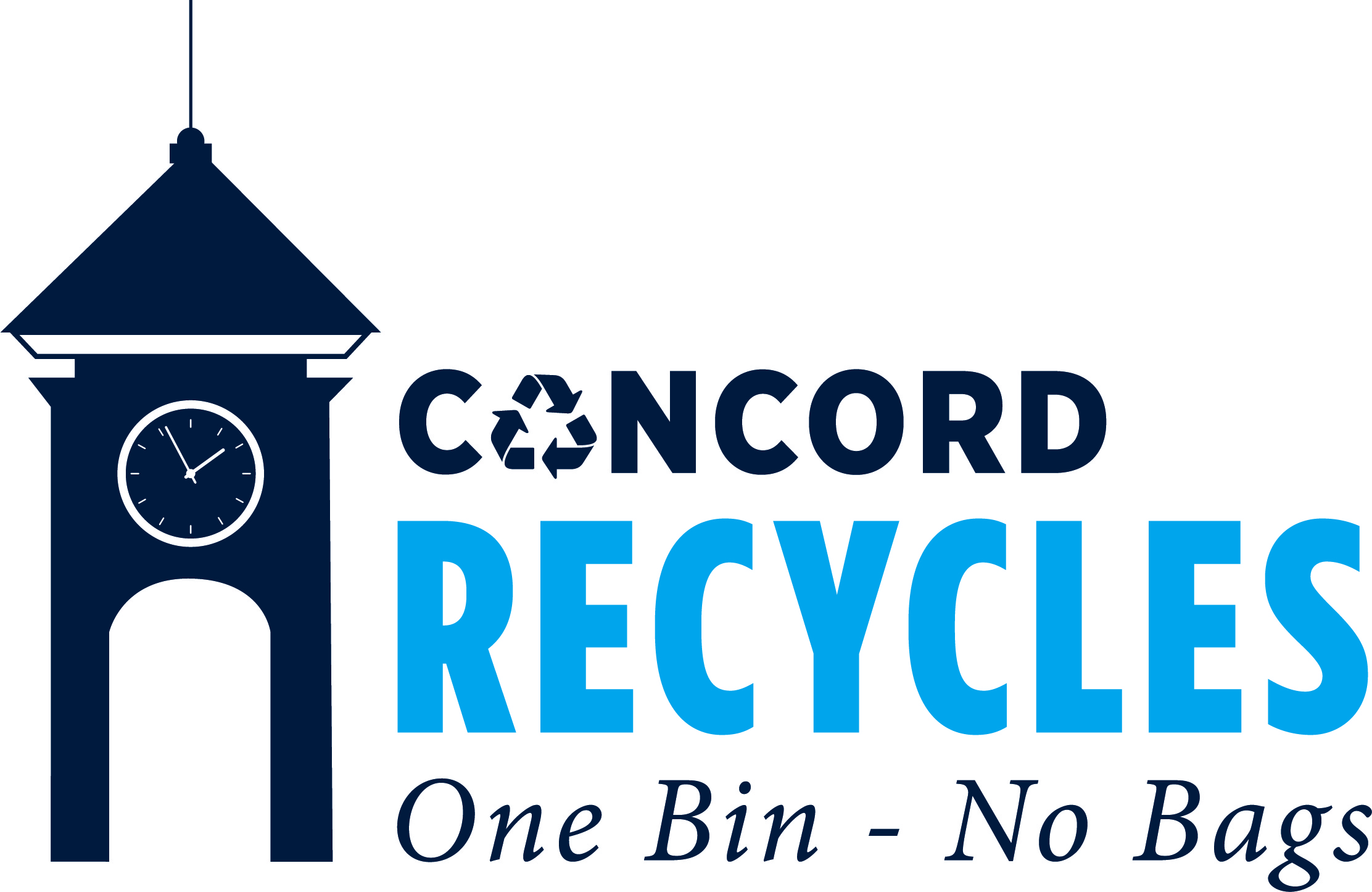 Concord Recycles One Bin No Bags