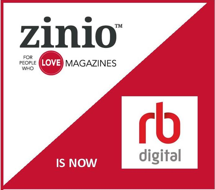 Zinio is now RB Digital
