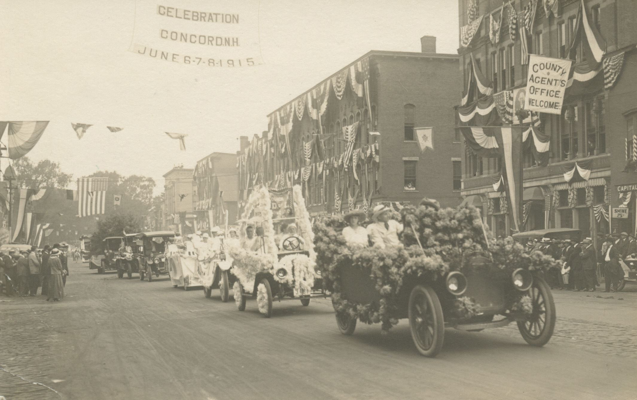 Parade Celebrating the 150th Anniversary of Concord's Charter in June 1915