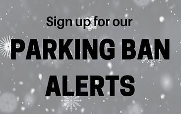 Winter Parking Ban Alerts