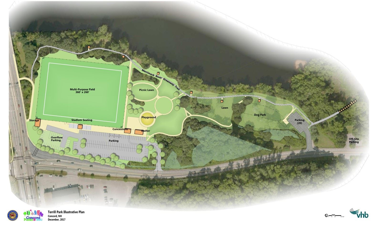 Terrill Park new Approved Master Plan Dec 2017 Site Plan Final