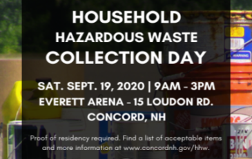 2019 Household Hazardous Waste Collection Day